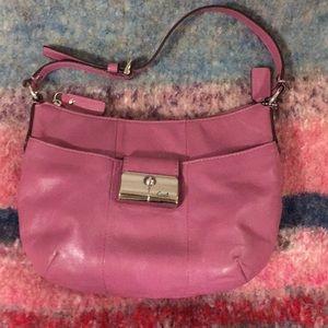 Authentic Coach handbag in purple